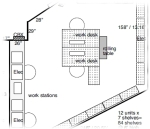Clip of floorplan