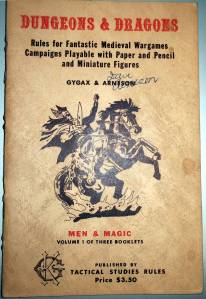 OD&D Men & Magic cover
