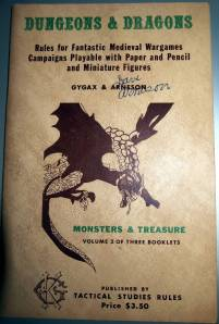 OD&D Monsters & Treasure cover